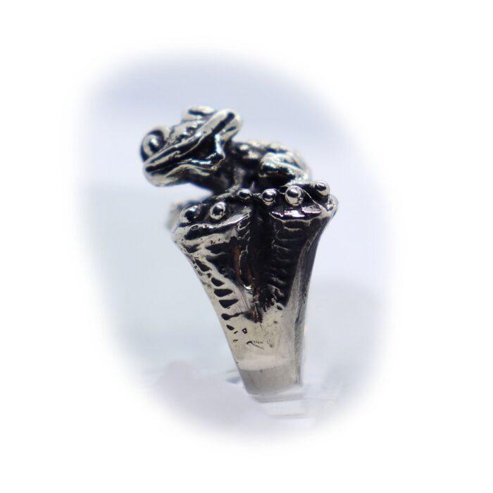 Frog Silver Ring V3 4