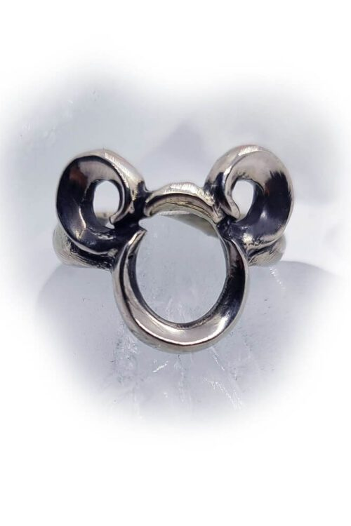Mighty Rat Sterling Silver Ring