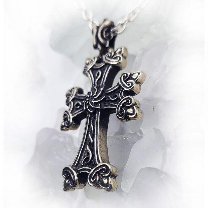 Armenian Eternity Cross Pendant 3