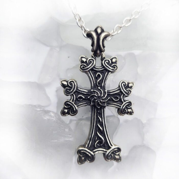Armenian Eternity Cross Pendant