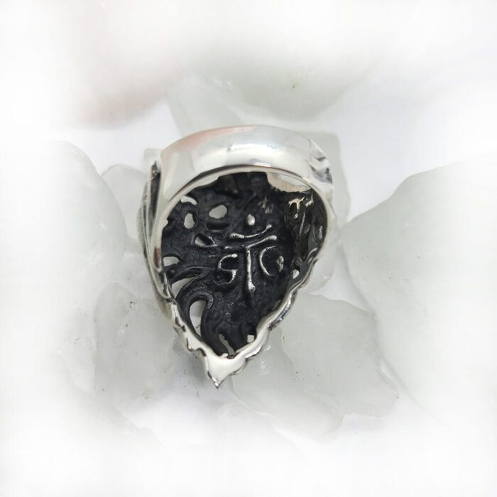 Lion Sterling Silver Ring 5