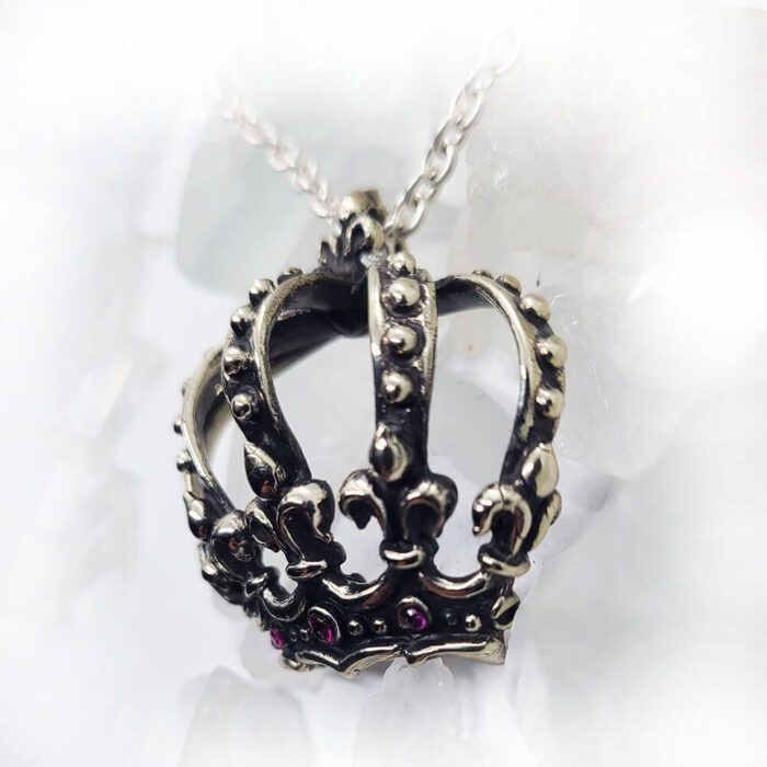 Magical Crown Rubies Pendant 3