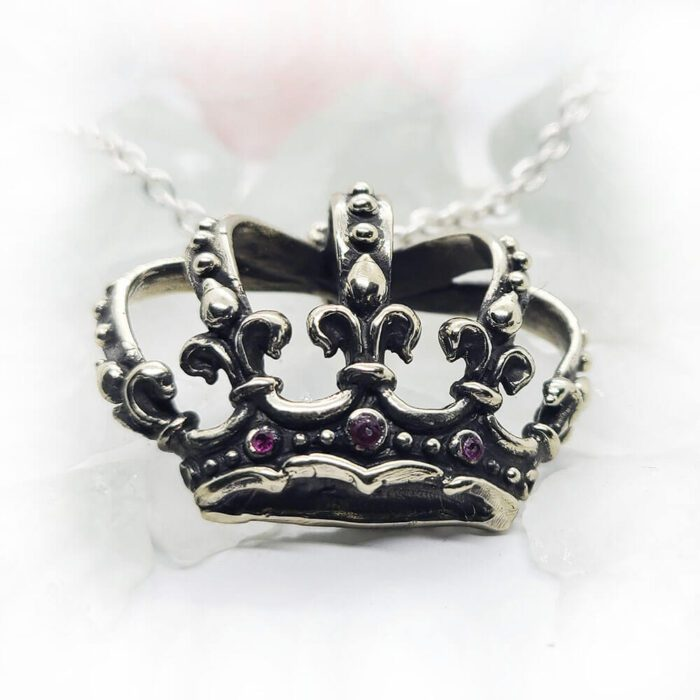 Magical Crown Rubies Pendant 4