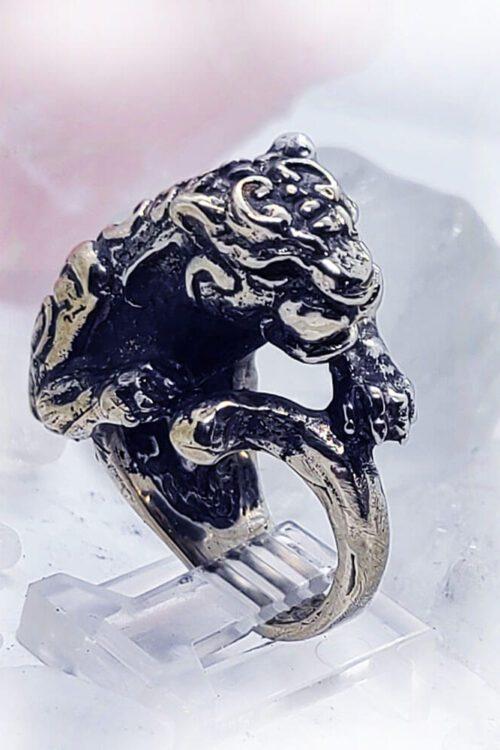 Tribal Jaguar Ring