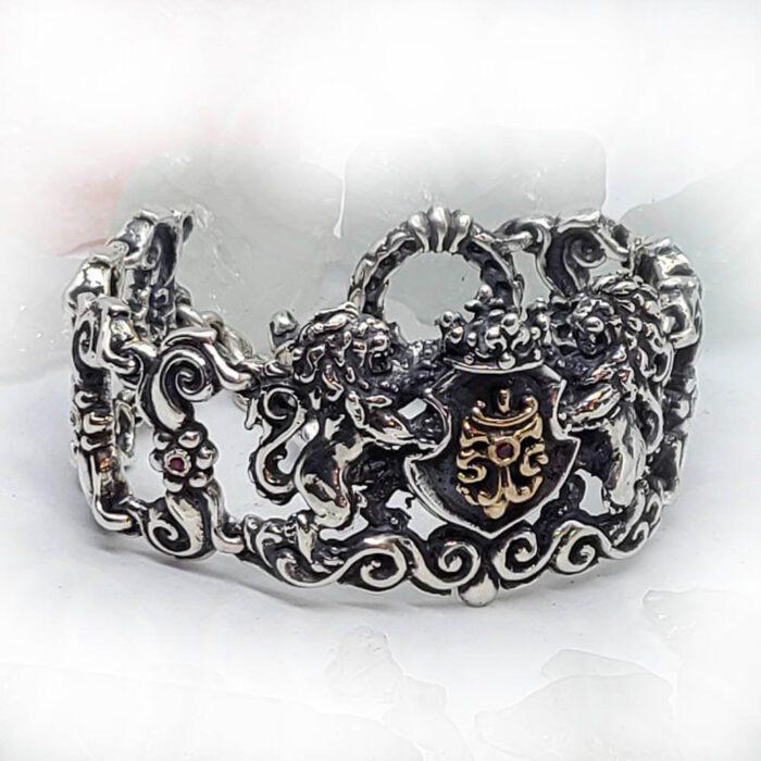 Royal Tigrani kings Lion Bracelet 5