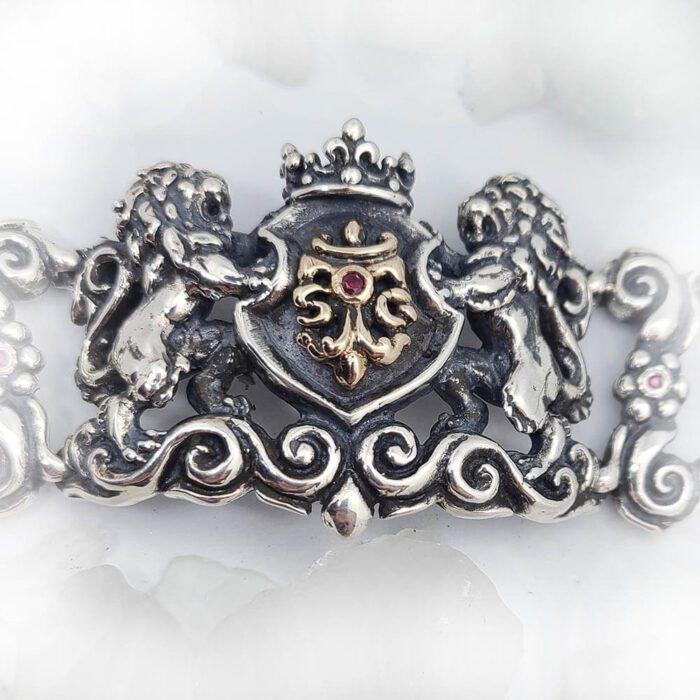Royal Tigrani kings Lion Bracelet