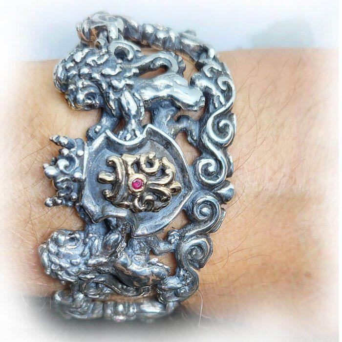 Royal Tigrani kings Lion Bracelet 8