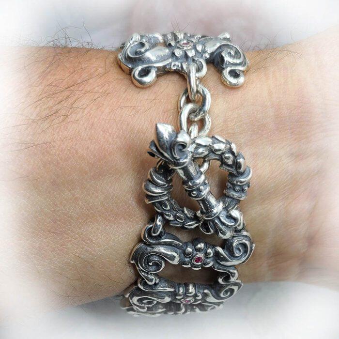 Royal Tigrani kings Lion Bracelet 9